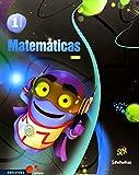 Matemáticas 1º Primaria (Pauta) Tres Trimestres (Superpixépolis)