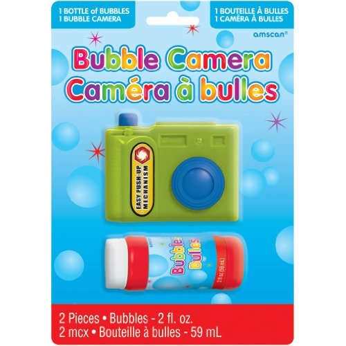 BUBBLE CAMERA (2 per package)