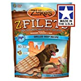 Zukes Z-Filets High Protein Dog Treats, 3.25oz, Beef