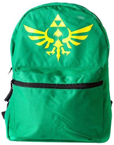 Nintendo Rucksack Zelda grn/schwarz - reversible [Edizione: Germania]