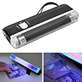 Fake Currency Detector UV Light Banknotes Detector Counterfeit Fake Forged Money Bank Note Checker Detector Tester