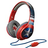 Avengers Captain America Over Ear Headphones with Volume Control, MC-M402