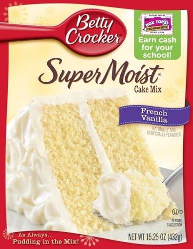 Ounce Box Cake Mix