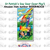 Happy St Patricks Day Door Cover Party Accessory  1 count 1