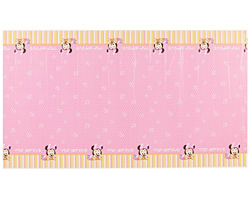 Minnie Mouse 1st Birthday Table Cover