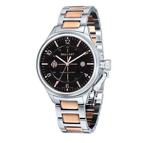 Ballast Men's BL-3125-22 TRAFALGAR Analog Display Swiss Made Watch