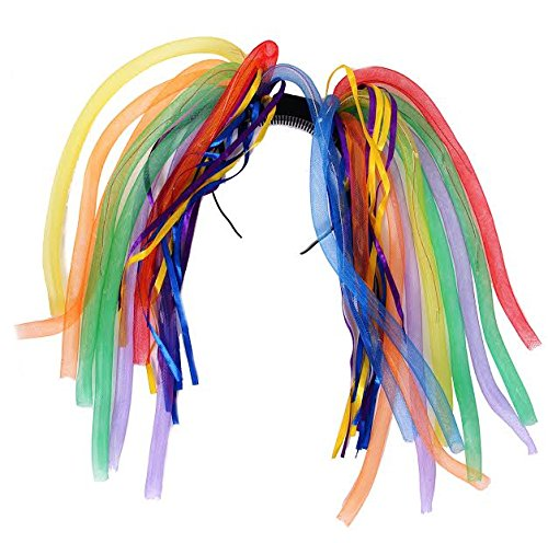 Dazzling Toys Multi-colored LED Light Up Party Dreads