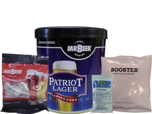 Home Brew Stuff Mr. Beer Patriot Lager with Booster and Carbonation Drops at Sears.com