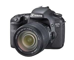 Canon EOS 7D Appareil photo numérique Reflex 18 Mpix Kit Objectif 15-85mm IS Noir