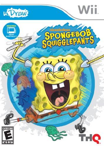 Spongebob Squigglepants - Udraw - Nintendo Wii front-613750