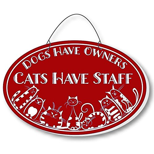 Cool Cats Cat-Gang Oval Laser-Etched 3-In-1 Plaques Have Staff Red front-372389