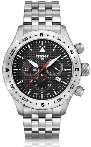 Traser T 5302 Men's Aviator Jungmann Steel Watch