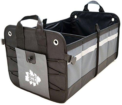 Car Auto Trunk Organizer | Premium Foldable Cargo Container | 22