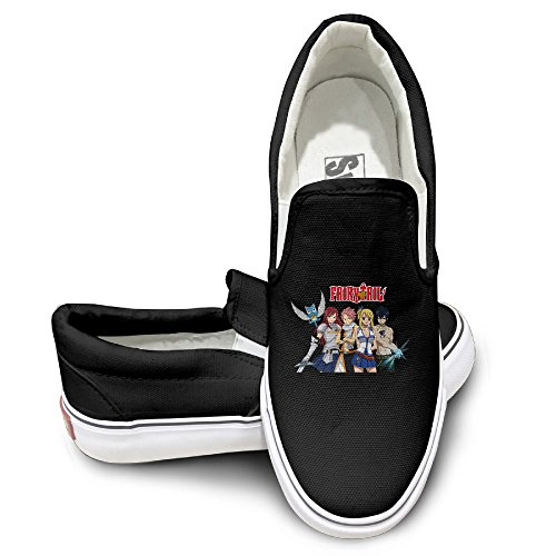 Custom Cool Sport Shoes Fairy Tail Animation Dancing Black