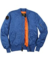 Alpha Industries Men's Burnett Lightweight MA-1 Bomber Flight Jacket