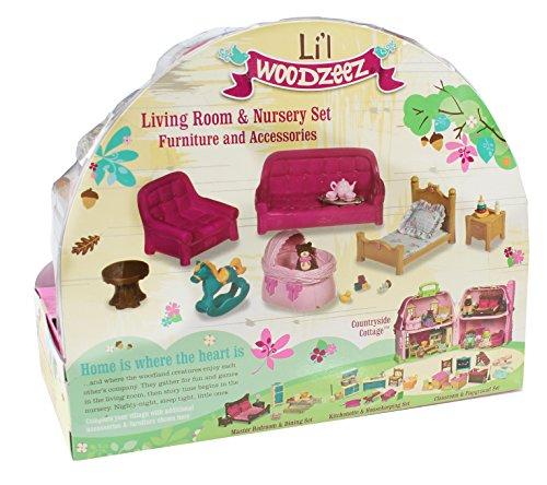 Woodzeez Living Room And Nursery Set