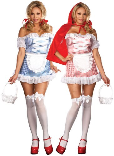 Plus Size Dorothy and Red Riding Hood Costumes