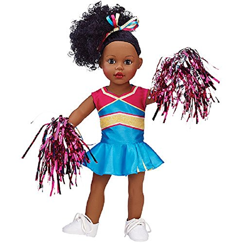 My Life As Cheerleader Doll, African American front-399159