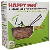 Star Anise Foods Happy Pho Vietnamese Brown Rice Noodle Soup Shiitake Mushroom -- 4.5 oz