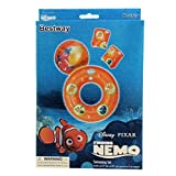 Disney Pixar - Finding Nemo Swimming Set - Ball, Swim Ring, And Arm Floats