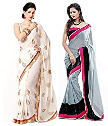 MUTA DESIGNER BOLLYWOOD SAREE WITH BLOUSE PIECE
