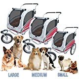 POLIRONESHOP ARGO rimorchio e passeggino per trasporto cani cane animali carrello carrellino trasportino rimorchi...
