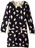 kc parker Big Girls' Animal Pattern Sweater Dress