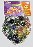 Hot Shot Assorted Size Metallic Marbles