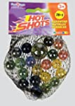 Hot Shot Assorted Size Metallic Marbles