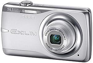 Casio EXILIM EX-Z550 SR Digitalkamera (14 Megapixel, 4-fach opt. Zoom, 6,9 cm Display, Bildstabilisator) silber