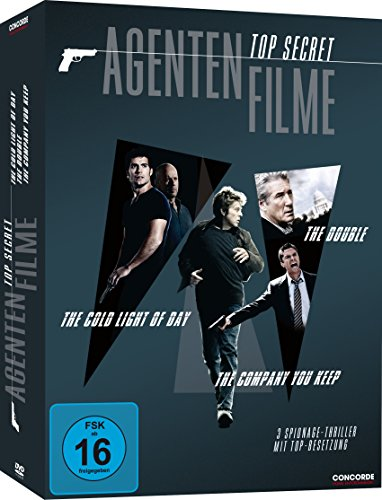 Top Secret Agentenfilme [3 DVDs]