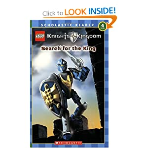 Knights' Kingdom (Search for the King) Scholastic Reader Level 4 Daniel Lipkowitz and Mada Inc.