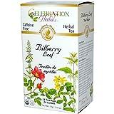 Celebration Herbals Teabags Herbal Tea Bilberry Leaf Organic, 24 Bags