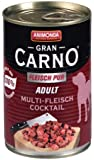 Animonda GranCarno 82730 Adult Multi-Fleischcocktail 12 x 400 g Dose - Hundefutter