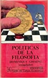 img - for Pol ticas de la filosof a (Spanish Edition) book / textbook / text book