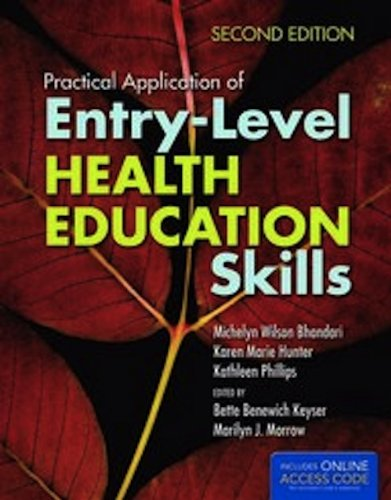 Practical Application Of Entry-Level Health Education Skills PDF
