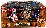 Disney / Pixar CARS Movie Exclusive 1:43 Die Cast Car 5 Piece Set Mater-Rama #2 [Kabuki, Dracula, Taco Truck, Ivan Mater & Dragstar]