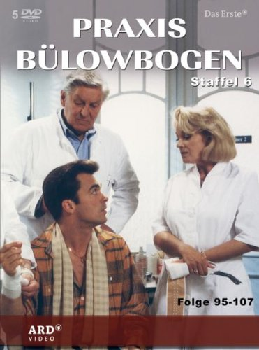 Praxis Bülowbogen - Staffel 6 (Folgen 95-107, 5 DVDs)