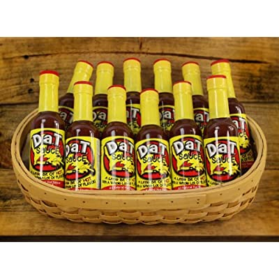 D.a.T. Sauce 12 Pack of 5oz Sauce Bottles