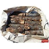 薪 カラマツ丸太玉切 軽トラック1台分約1立米 袋入り