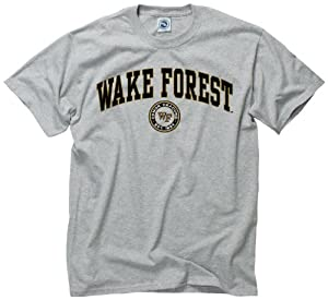 Buy Wake Forest Demon Deacons Adult Arch and Ring T-Shirt by Unknown