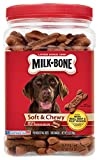 Milk-Bone Soft & Chewy Beef & Filet Mignon Recipe Dog Treats  25-Ounce
