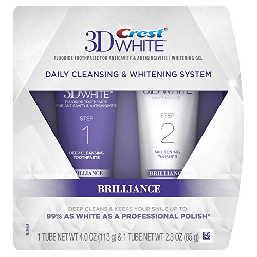 Crest 3D White Brilliance Daily Cleansing Toothpas…