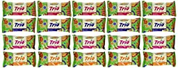 Mrs. May\'s Trio Bar Variety Pack - Blueberry, Cranberry, Strawberry & Tropical, LARGER 1.7-oz Bars (Pack of 20)