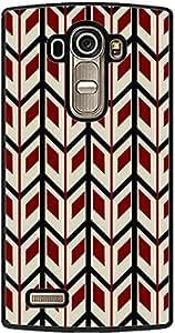PrintVisa 2D-LGG4-D7924 Pattern Chevron Case Cover for LG G4