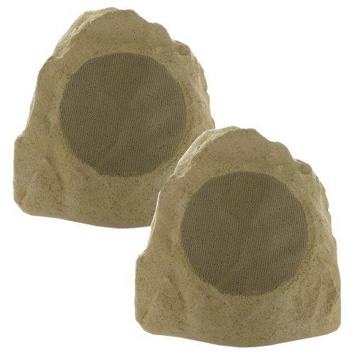 Theater Solutions 2R8S Outdoor Rock Speakers (Sandstone)