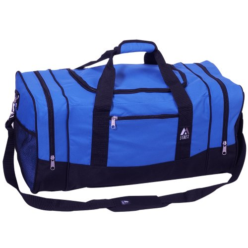 Everest Luggage Sporty Gear Bag - Large, Royal