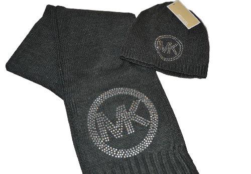MICHAEL Michael KorsMichael Kors Set of Hat and Scarf Grey