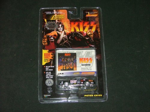Johnny Lightning KISS Peter Criss Die Cast Stock Car