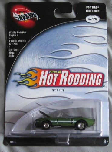 Hot Wheels Popular Hot Rodding Series 1/4 Pontiac Firebird 1/4 GREEN
